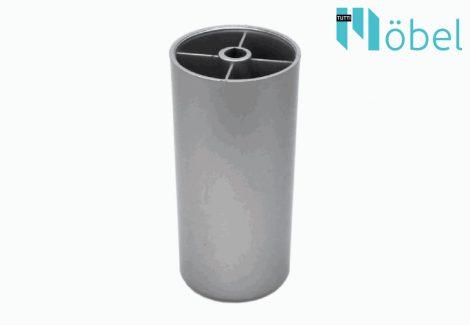 100 mm-es műanyag láb - matt króm