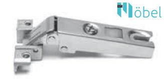 FGV MS Slide-On 105°-os rázáródó kivetőpánt alumínium keretes ajtókhoz