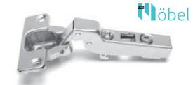 FGV Optima Click 110° kivetőpánt talp nélkül - féligzáródó