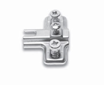 FGV QS Mini üvegajtópánthoz talp, Euro csavarral (talp H-4)
