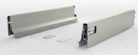 FGV TEN fékes fiókoldal, szürke, 150 x 450 mm
