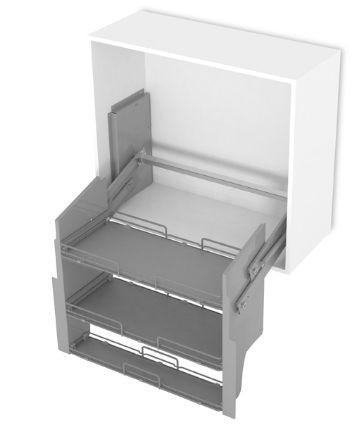 COMPAGNUCCI Tiramigiú, Liftes polc 600 mm-es szekrénybe