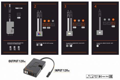 Bluetooth kapcsoló LED lámpákhoz.