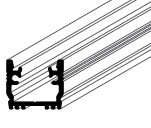 FLOOR profil LED szalaghoz